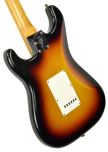 Fender Custom Shop Postmodern HSS Stratocaster Relic in 3 Tone Sunburst XN11100 | The Music Gallery | Back Angle 2