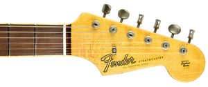 Fender Custom Shop Postmodern HSS Stratocaster Relic in 3 Tone Sunburst XN11100 | The Music Gallery | Headstock Front
