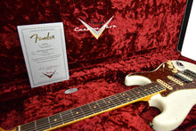 Fender Custom Shop Postmodern HSS Stratocaster Relic in Olympic White XN11528 - The Music Gallery