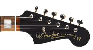 Fender® 60th Anniversary Jazzmaster in Black | Headstock Front