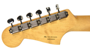 Fender® 60th Anniversary Jazzmaster in Black | Headstock Back
