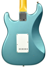 Fender Custom Shop 63 Stratocaster Journeyman Relic in Teal Green Metallic R100501