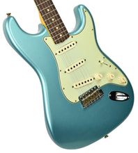 Fender Custom Shop 63 Stratocaster Journeyman Relic in Teal Green Metallic R100501 - The Music Gallery