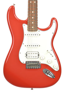 Fender® Player Stratocaster HSS in Sonic Red | Front Small