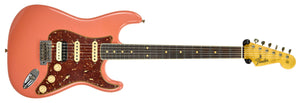 Fender Custom Shop Postmodern HSS Stratocaster Relic in Salmon Pink XN11532 | The Music Gallery | Front Full