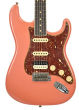 Fender Custom Shop Postmodern HSS Stratocaster Relic in Salmon Pink XN11532 | The Music Gallery | Front Close