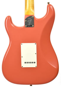 Fender Custom Shop Postmodern HSS Stratocaster Relic in Salmon Pink XN11532 | The Music Gallery | Back Close