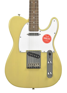 Squier® Standard Telecaster® in Vintage Blonde | Front Small