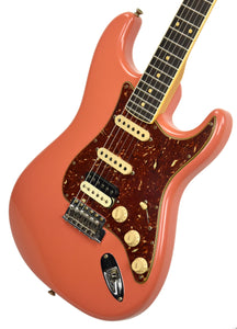 Fender Custom Shop Postmodern HSS Stratocaster Relic in Salmon Pink XN11532 | The Music Gallery | Front Angle 1