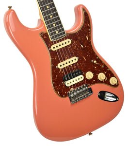 Fender Custom Shop Postmodern HSS Stratocaster Relic in Salmon Pink XN11532 | The Music Gallery | Front Angle 2