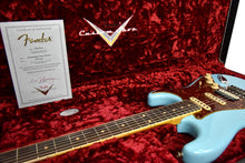 Fender Custom Shop Postmodern HSS Stratocaster Relic in Daphne Blue XN11542 | The Music Gallery | Open Case Certificate