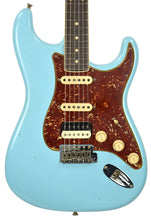 Fender Custom Shop Postmodern HSS Stratocaster Relic in Daphne Blue XN11542 - The Music Gallery