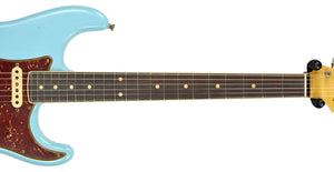Fender Custom Shop Postmodern HSS Stratocaster Relic in Daphne Blue XN11542 | The Music Gallery | Neck Front