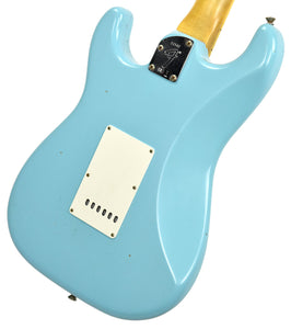 Fender Custom Shop Postmodern HSS Stratocaster Relic in Daphne Blue XN11542 | The Music Gallery | Back Angle 1