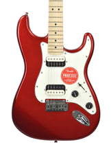 Squier® Contemporary Stratocaster® HH in Dark Metallic Red | Front Small