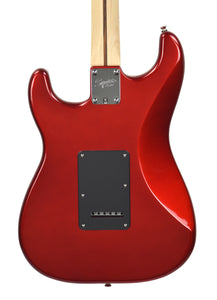 Squier® Contemporary Stratocaster® HH in Dark Metallic Red | Back Small