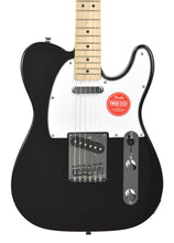 Squier Affinity Telecaster in Black | Front Small