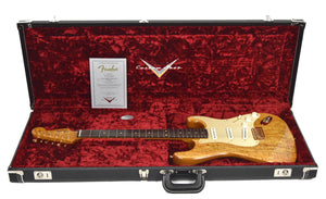 Fender Custom Shop Artisan Spalted Maple Stratocaster | Case Open