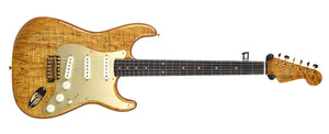 Fender Custom Shop Artisan Spalted Maple Stratocaster | Front Large | The Music Gallery