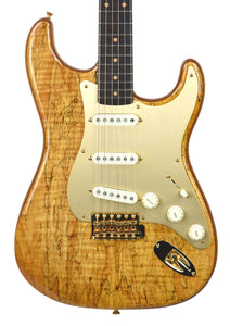 Fender Custom Shop Artisan Spalted Maple Stratocaster | Front Small | The Music Gallery