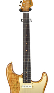 Fender Custom Shop Artisan Spalted Maple Stratocaster | Neck Front | The Music Gallery