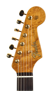 Fender Custom Shop Artisan Spalted Maple Stratocaster | Headstock Front | The Music Gallery