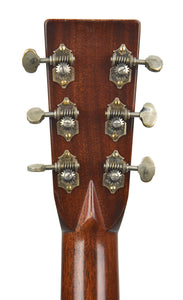 Martin D28 Authentic 1937 VTS Aged | Headstock Back