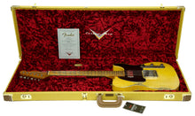 Fender Custom Shop 1951 Telecaster Heavy Relic Faded Nocaster Blonde Masterbuilt by Dale Wilson | The Music Gallery | Open Case Certificate