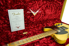 Fender Custom Shop 1951 Telecaster Heavy Relic Faded Nocaster Blonde Masterbuilt by Dale Wilson | The Music Gallery | Open Case Certificate 2