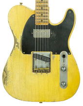 Fender Custom Shop 1951 Telecaster Heavy Relic Faded Nocaster Blonde Masterbuilt by Dale Wilson | The Music Gallery | Front Close