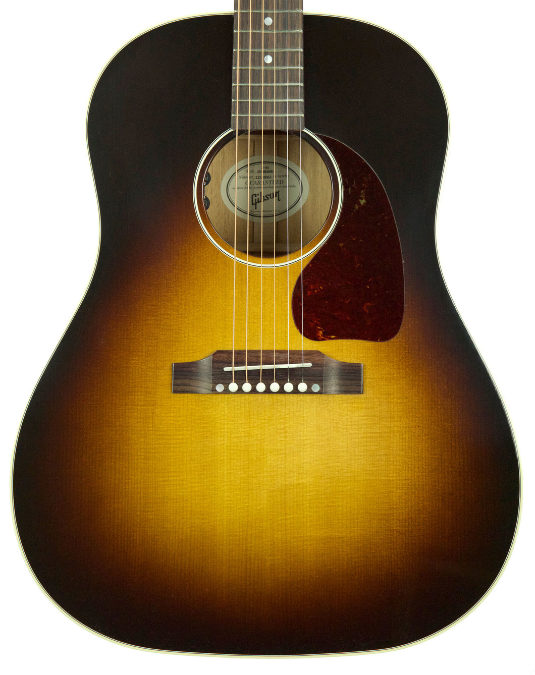 Gibson Montana J-45 Standard in Vintage Sunburst 12559062 - The Music Gallery