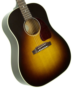 Gibson Montana J-45 Standard in Vintage Sunburst 12559062 | The Music Gallery | Front Angle 2