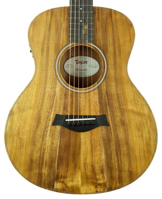 Taylor Koa GS Mini-e Acoustic Electric Guitar 2108129422 | The Music Gallery | Front Close