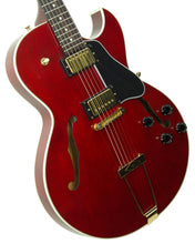 Gibson ES-135 in Wine Red | The Music Gallery | Front Angle 2