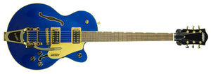 Gretsch G5655TG Electromatic Center Block Jr. Single-Cut w/ Bigsby in Azure Metallic CYGC19060187