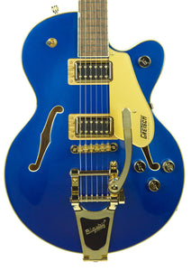 Used Gretsch G5655TG Electromatic Center Block Jr. Single-Cut w/ Bigsby in Azure Metallic CYGC19060187