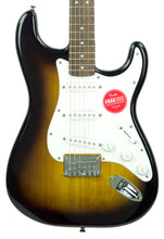 Squier Bullet Strat Hardtail in Brown Sunburst ICS19078213 - The Music Gallery