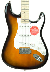 Squier Affinity Stratocaster Maple Neck 2 Tone Sunburst CY190607216