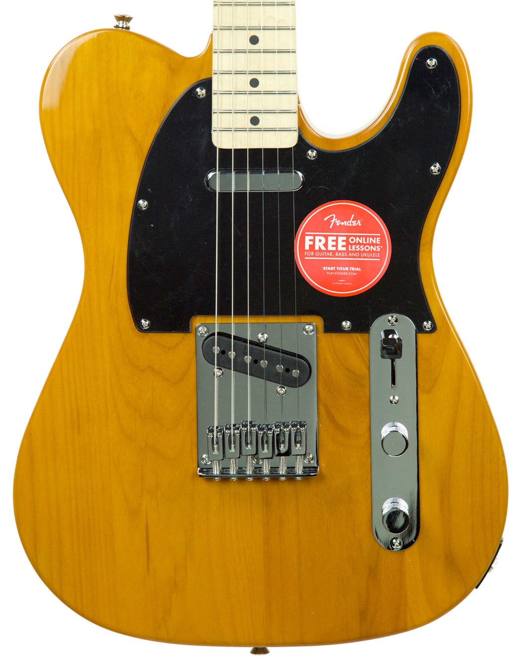 Squier Affinity Telecaster in Butterscotch Blonde CY190507248 | The Music Gallery | Front Close