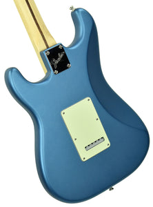 Used Fender American Performer Stratocaster in Satin Lake Placid Blue US18103687 - The Music Gallery