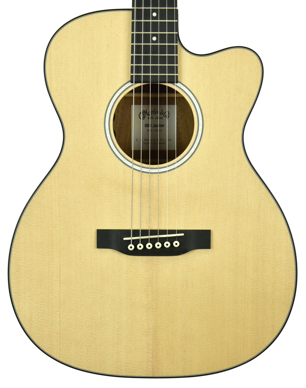 Martin 000-CJRe Acoustic Electric Guitar 2323731 - The Music Gallery