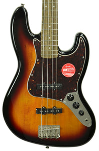 Squier Classic Vibe 60s Jazz Bass 3 Tone Sunburst ICS19118545 - The Music Gallery
