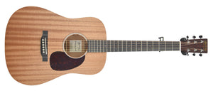 Martin D Jr. 2E Sapele Acoustic Guitar | Front Large