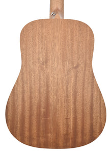 Martin D Jr. 2E Sapele Acoustic Guitar | Back Small