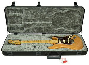 Fender American Ultra Stratocaster in Aged Natural US19079635 - The Music Gallery