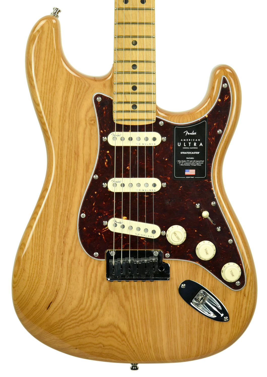Fender American Ultra Stratocaster | The Music Gallery | Front Close