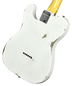 Fender Custom Shop NAMM LTD 63 Telecaster Relic Olympic White CZ542872 - The Music Gallery