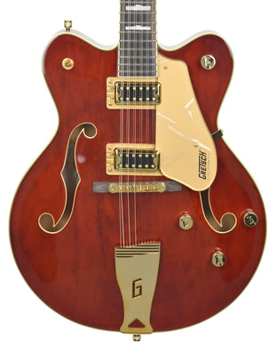 Gretsch G5422G-12 12 String Electric Guitar in Walnut Stain | Front Small