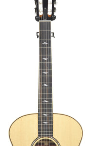 Taylor 814-N Acoustic Guitar front neck close