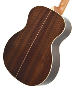 Taylor 814-N Acoustic Guitar back angle 2